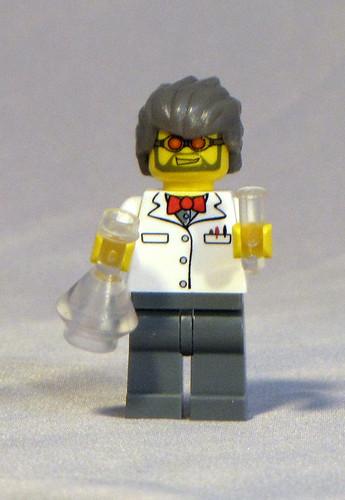 Custom minifig Mad Scientist custom minifig