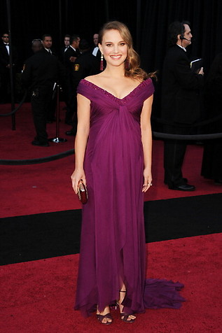 Natalie Portman at Oscars 2011