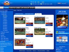 AllSlots Casino Lobby