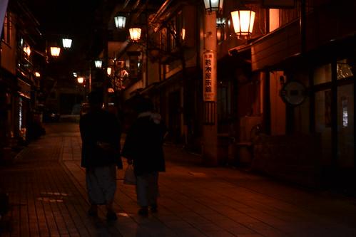 Shibu Onsen night walk