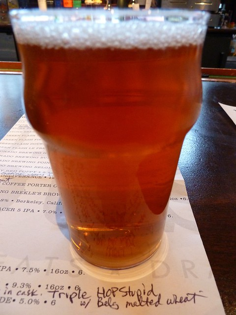 Lagunitas Hop High SFBW in Cask