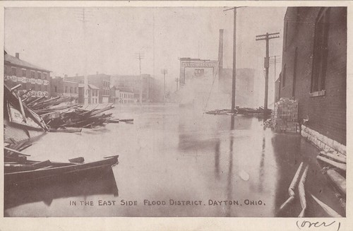 In the East Side Flood District, Dayton, OH - 1913 Flood