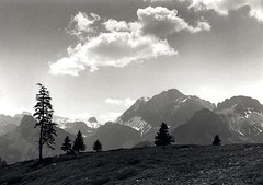Near Kandersteg (Guido Havelaar) Tags: blackandwhite bw monochrome schweiz switzerland blackwhite suisse suiza monotone kandersteg svizzera schwarzweiss pretoebranco noirblanc  neroeblanco suica