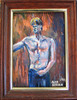 00045 (buzzchap) Tags: blue shirtless portrait man cute sexy male guy art jock pecs muscles pits painting nice tits nipples slim skin sweet masculine muscle barechested muscular bare gorgeous awesome chest smooth handsome hunk dude belly jeans lad denim torso rough bluejeans navel macho tough abs stud hunky sixpack lean armpits abdominals torsenu torsonudo buzzchap alanberdan