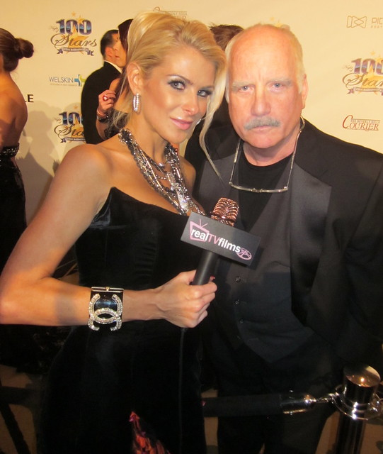 Jennifer Lexon, Richard Dreyfuss, Night of 100 Stars Oscar Party 2011