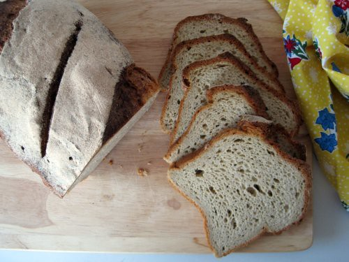 Sandwich Bread with Sourdough Starter
