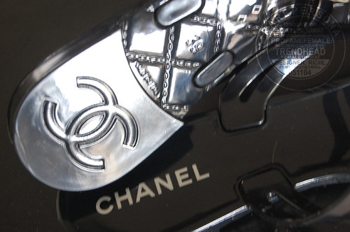 thong sandals with heels. Chanel Camellia Thong Sandals!