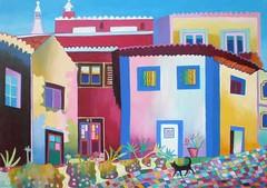 Monchique street (Liz Allen) Tags: street houses portugal algarve casas commission monchique lizallen