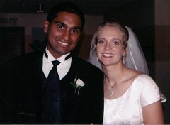 Rukshan and Jody's interracial wedding