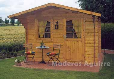 Maderas aguirre varios casetas de madera caseta de jardin ebro - Maderas aguirre ...