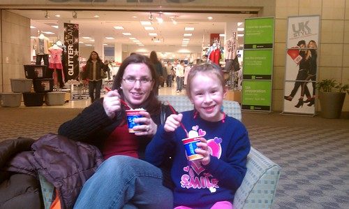 Hanging at the mall...