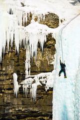 Ice climber #2 (slack12) Tags: canada ice climber banffnationalpark johnstoncanyon