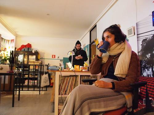 Visita en casa Peseta