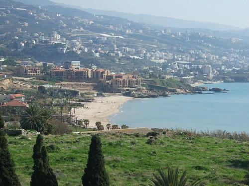Coastline of Beirut