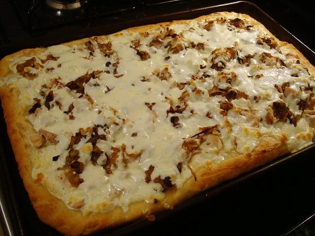 White chicken pizza2