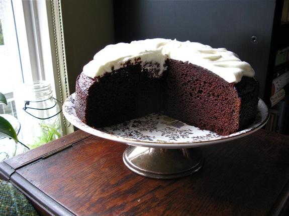 chocolate guinness cake 006
