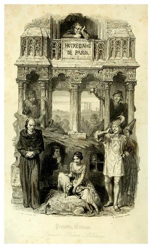 001-portadade la obra-Notre-Dame de Paris 1844- edicion Perrotin Garnier Frères-