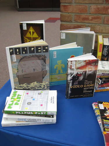Video Game Book Display