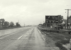 northbound State St (US-89/US-91/westbound US-50A) at I-15 in Lehi, late 1960s (CountyLemonade) Tags: new sign utah construction saltlakecity freeway shield 1960s exit lehi ushighway89 ushighway91 ushighway50alternate