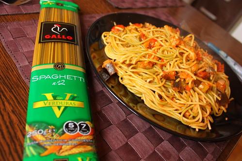spaghete vinete rosii uscate