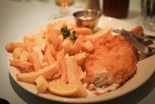 Fish and Chips at Poppie's