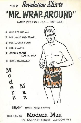 Modern Man Flyer
