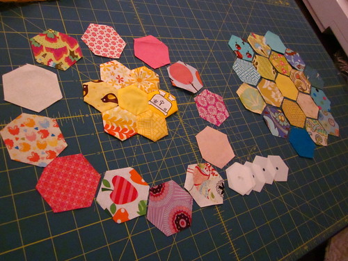 March bee blocks
