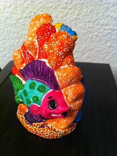 Coral Fish Statue