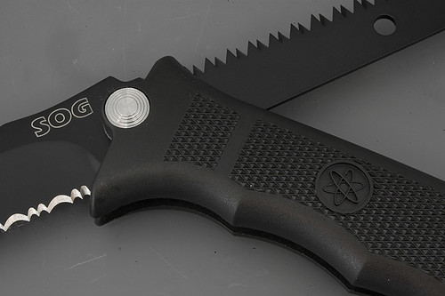 "SOG Fusion Revolver - SEAL 4.75"" Revolving Blade and Saw"