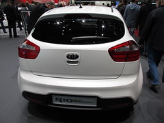 New Kia Rio rear