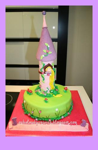 Bolo Torre Rapunzel 2 by Osbolosdasmanas