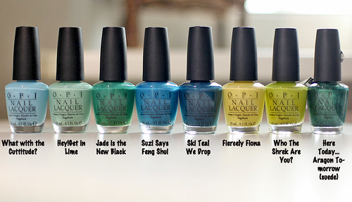 OPI Blue-Green