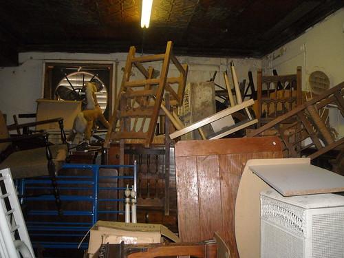 Pile of Furniture on 3rd Floor