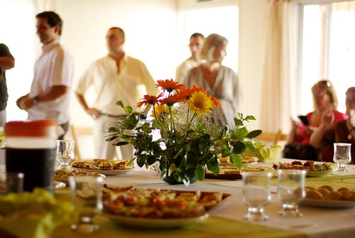 Buffet Ready and Guests Waiting by blmurch, on Flickr