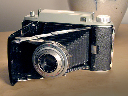 1951 Kodak Tourist II camera