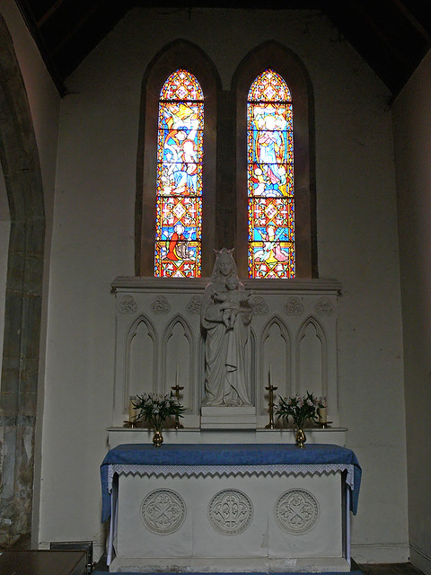 Lady Chapel - Avon Dassett Hardman stained glass