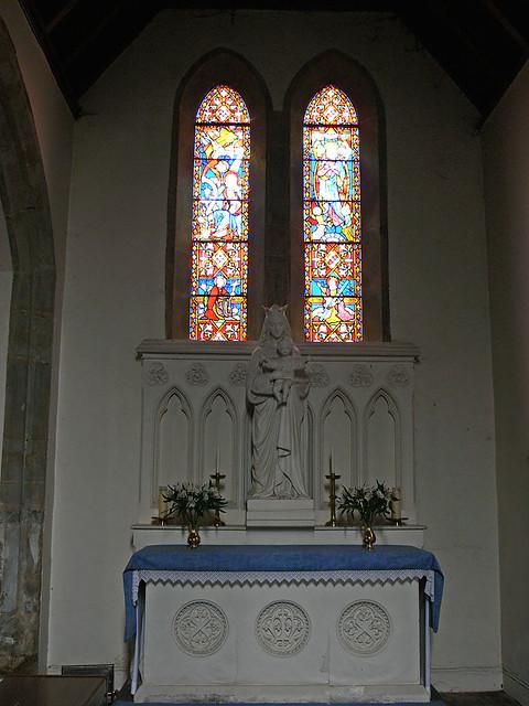 Lady Chapel - Avon Dassett Hardman stained glass