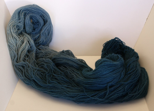 Missouri Fiber Retreat 2011: Indigo Dyeing Class
