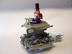 Tea Time (monsterbrick) Tags: lego teacup madhatter saucer moc greeble teacupwars