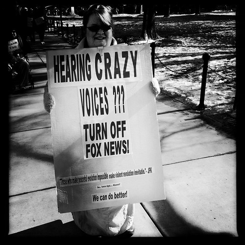 Hearing Crazy Voices? Turn Off Fox News!