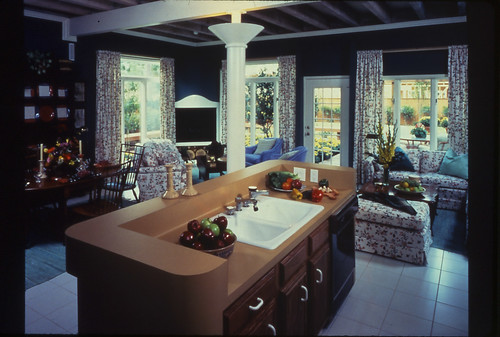 The 1984 New American Home: kitchen