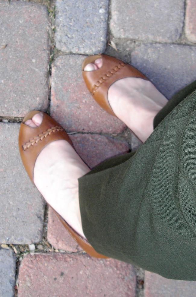 Kitten heels of my humiliation
