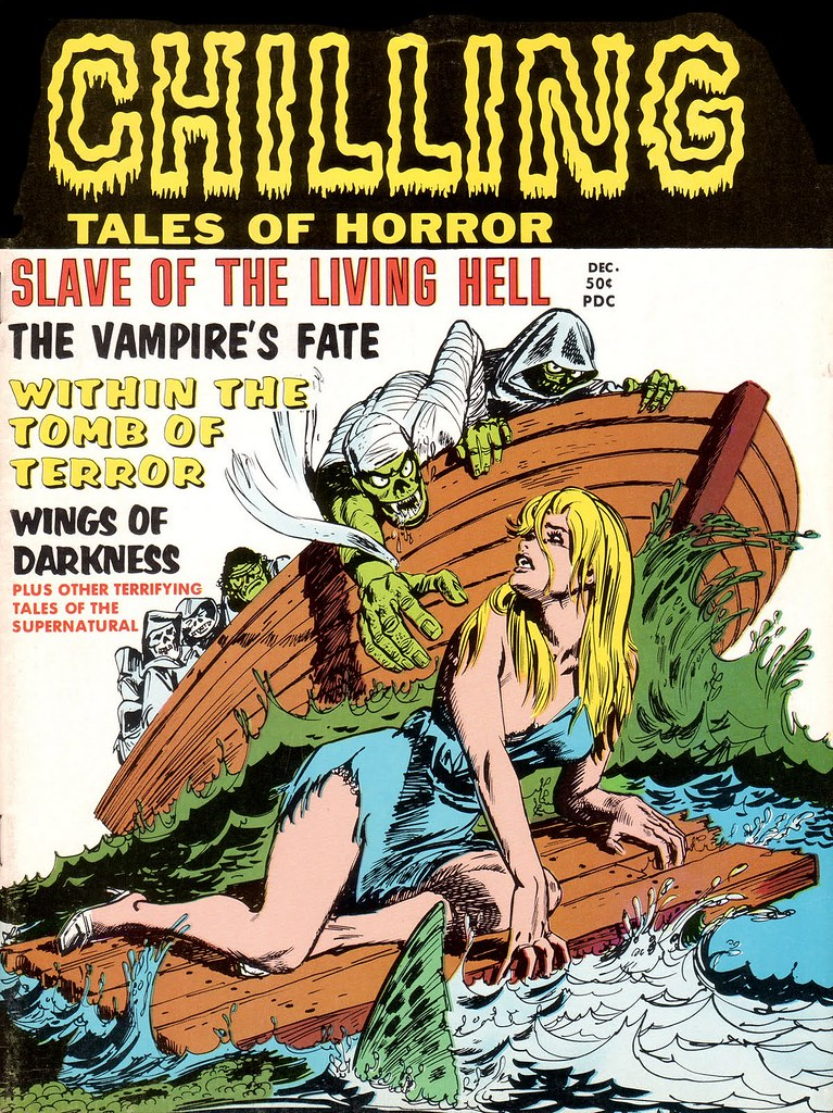 Chilling Tales Of Horror - #7 (Stanley Publications, 1970)