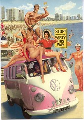 Party Bus (toomanypictures1) Tags: 60s speedo kitch vwbus partybus bikinibeach