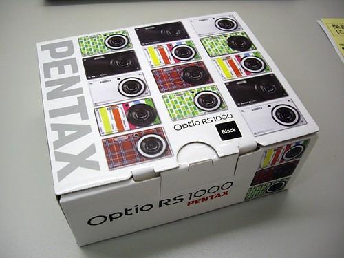 PENTAX Optio RS1000???
