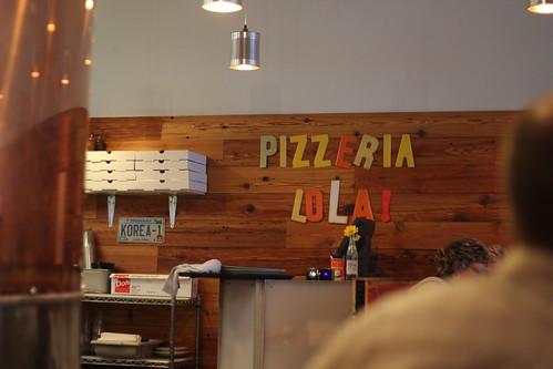 Inside Pizzeria Lola