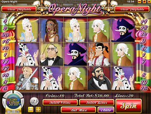 Opera Night slot game online review