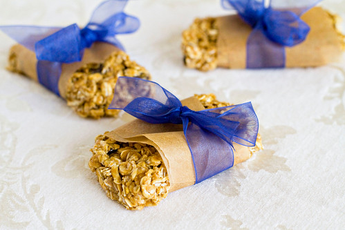 SunButter and Chocolate Chip Granola Bars - 3