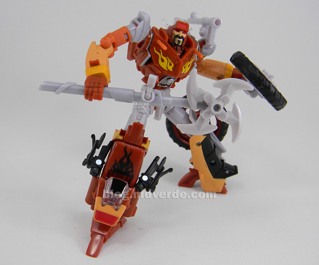 Transformers Wreck-Gar Reveal the Shield Deluxe - modo robot