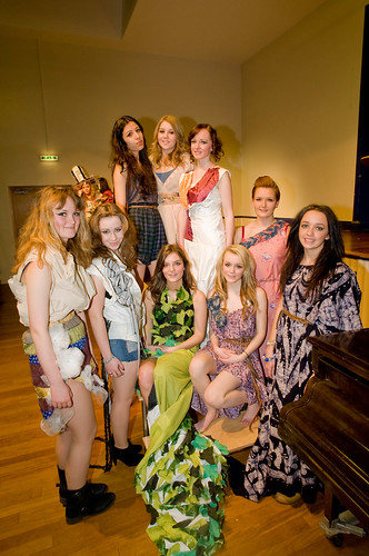 Ethical Catwalk Show at Chester Highschool, UK